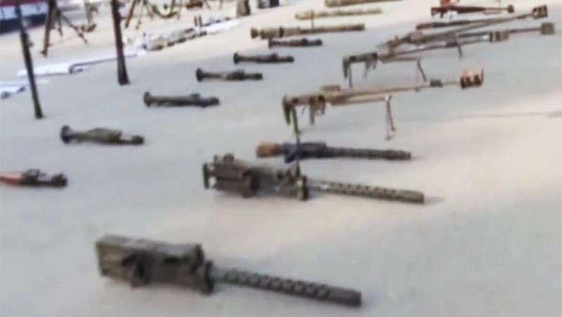 В Идлибе армия Сирии нашла у террористов большое количество оружия из США, Турции и Европы
