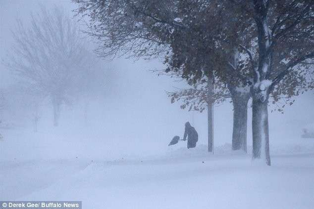 Нью-йоркский снегопад уже убил пять человек