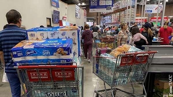 Коронавирус обнажил хрупкость американского общества потребления