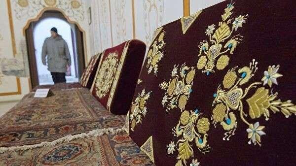 Отреставрированные предметы в Ханском дворце