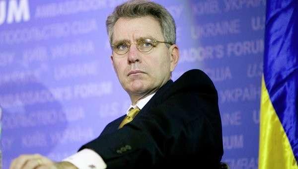 Посол США на Украине Джефри Пайетт, архивное фото