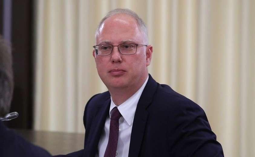 Генеральный директор – председатель правления АО «Управляющая компания Российского Фонда Прямых Инвестиций» Кирилл Дмитриев на встрече с инвесторами.