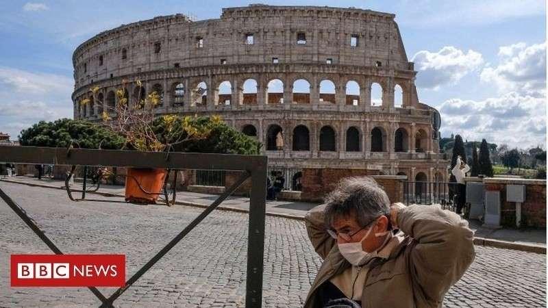 В Италии закрыли магазины, бары и рестораны