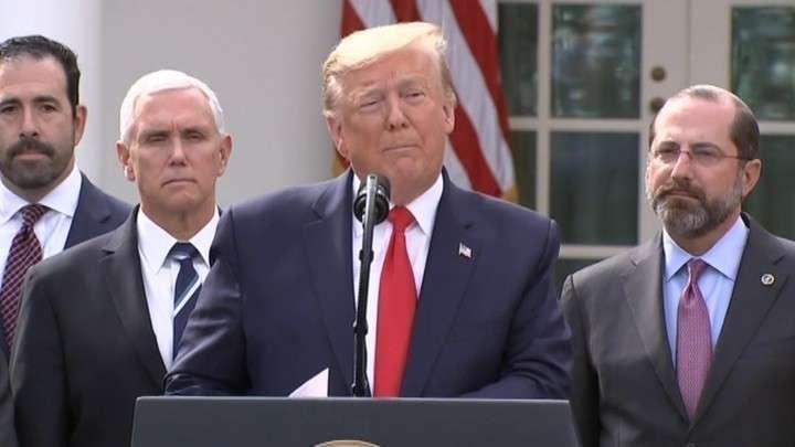 Дональд Трамп объявил в США режим национальной чрезвычайной ситуации