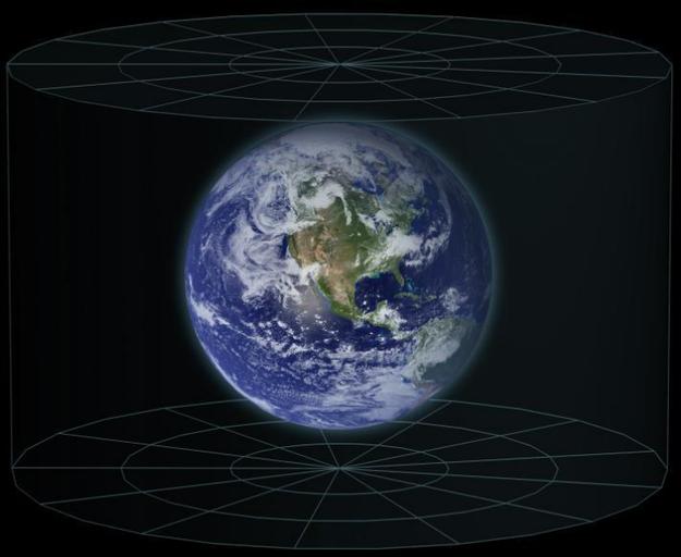 Взгляните на наше место во Вселенной с другой точки зрения