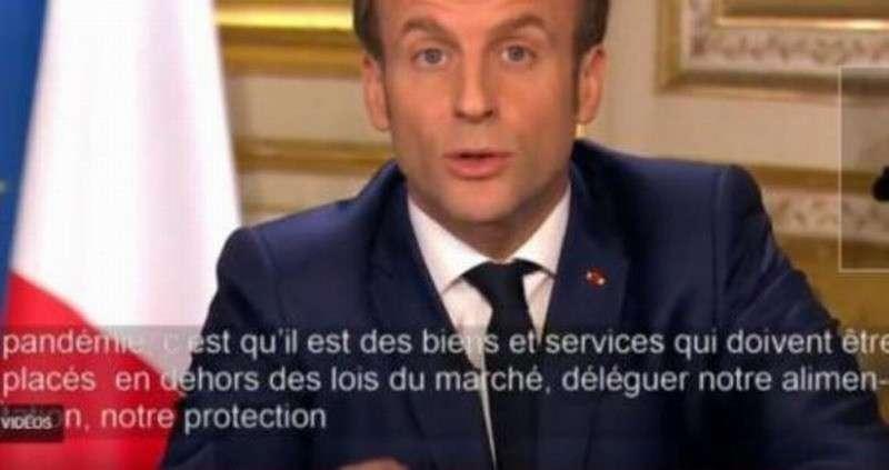 Макрон призвал ЕС, «борясь с коронавирусом», порвать с диктатом США и сменить экономическую модель