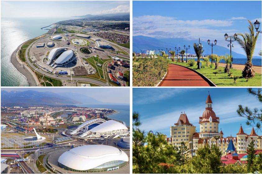 Адлерский район Сочи, олимпийский парк. Что там происходит спустя 6 лет поле олимпиады 2014?