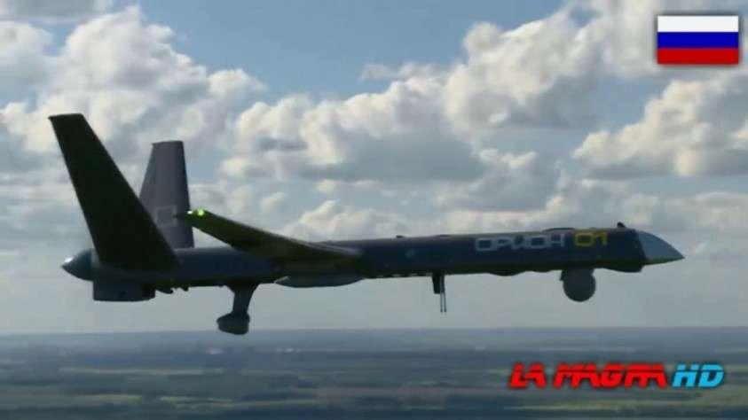 Полёт БПЛА «Орион». Первый российский ударный дрон класса MALE показали в действии