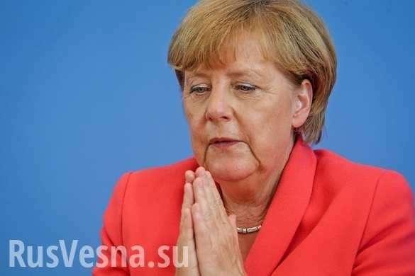 «Это серьёзно»: Меркель обратилась к нации со странным заявлением | Русская весна