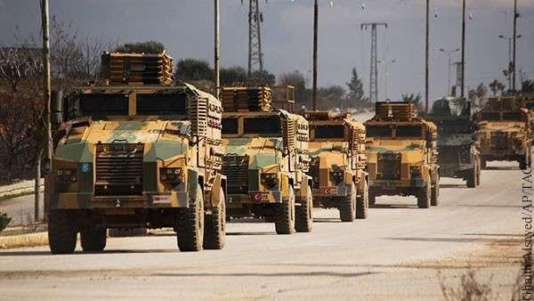 Турки в Сирии по-тихому обустраивают долговременную оборону