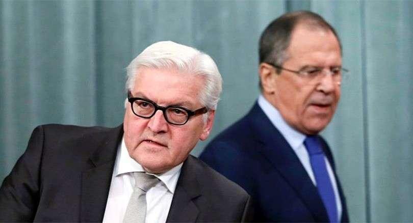 Россия и Германия решают, что делать с Украиной