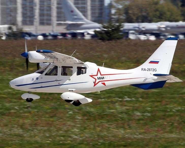 демонстрационный полет самолета МАИ-411 на МАКС-2019