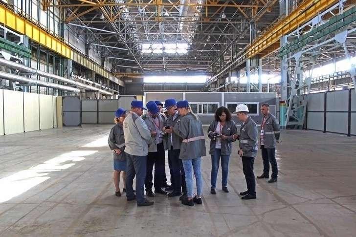 визит представителей компании NOVARES в индустриальный парк АВТОВАЗ в июле 2019 г.