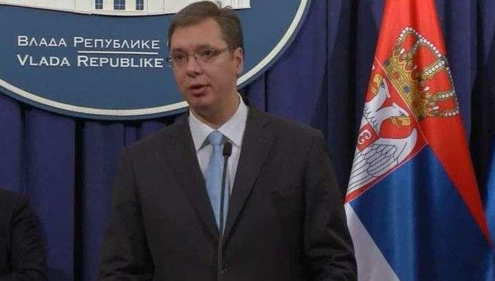 Сербия не хочет рушить исторические связи с Россией
