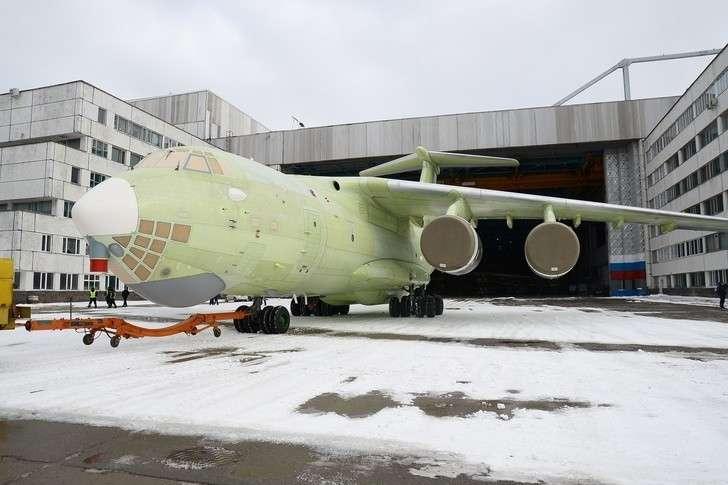 В Ульяновске на летные испытания передан очередной Ил-76МД-90А