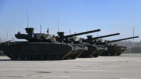 Танки Т-14 Армата