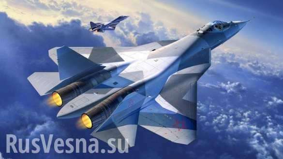 Вопреки физике: полёт Су-57 на предельных режимах (ВИДЕО) | Русская весна