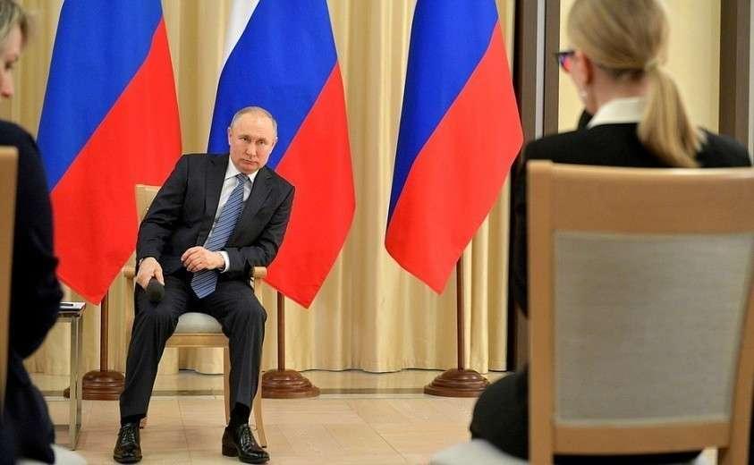 Владимир Путин провёл встречу с представителями предпринимательского сообщества