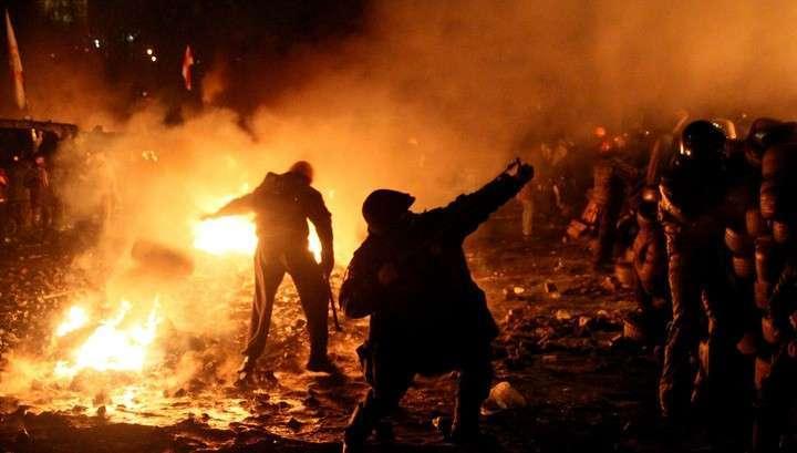 Блокпосты и собаки: Киев готовится к годовщине Майдана