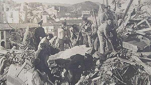 Больше ста лет назад русские военные уже спасали погибающих итальянцев