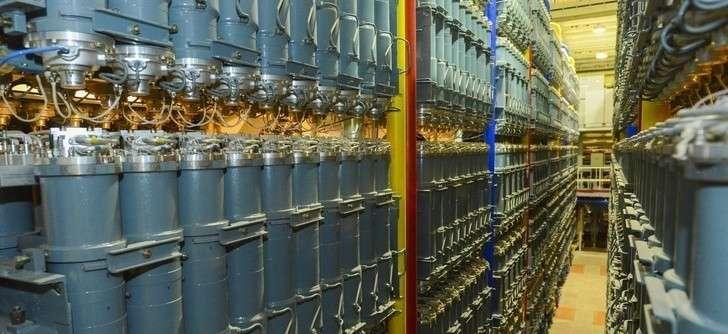 В цехе обогащения урана АО «ПО «Электрохимический завод» введены секции центрифуг нового поколения