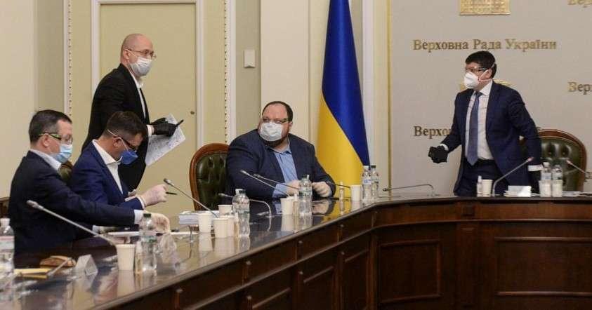 Юмор о Украине. Коронавирусный конец Рады – сборища бесполезных идиотов