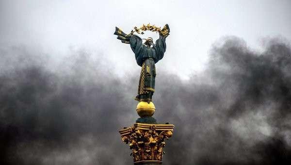 Монумент на площади Независимости в Киеве. Архивное фото
