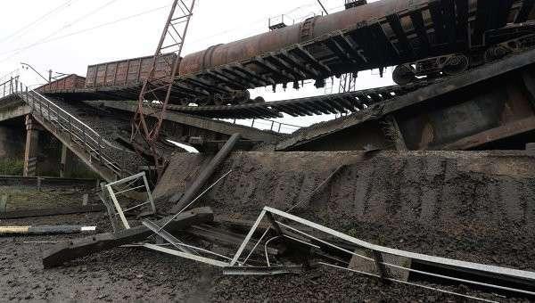 Ситуация в Славянске Донецкой области