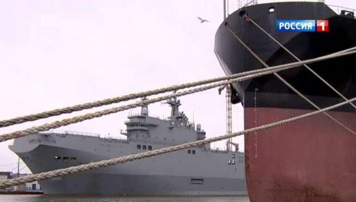 Мистраль «Владивосток» могут отдать России 27 ноября