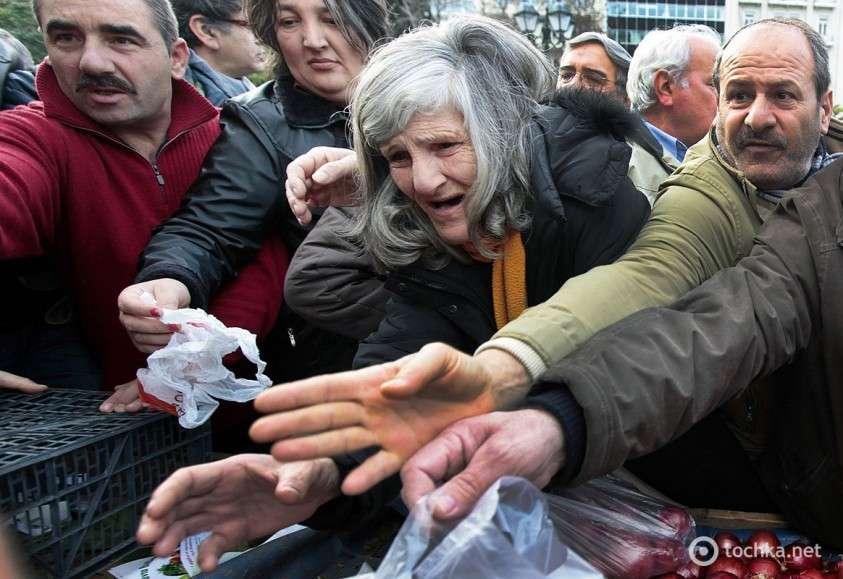 Европа и США готовятся к голодным бунтам