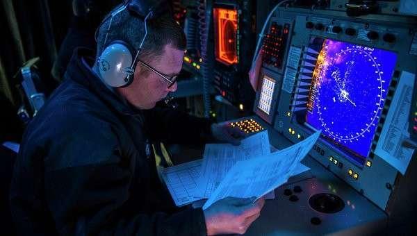 Радар США, архивное фото