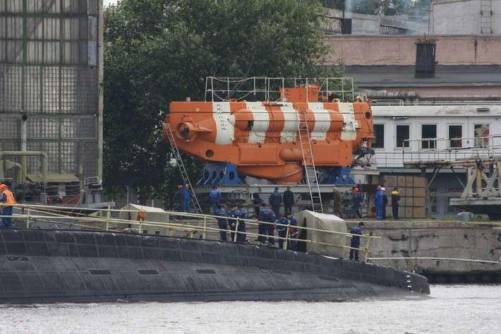 ВМФ испытал уникальный глубоководный спасательный аппарат