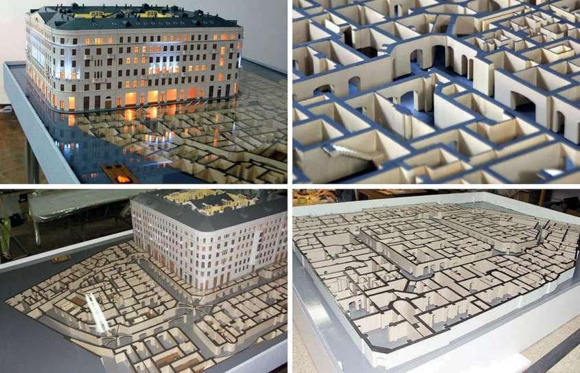 Засыпанные здания по всему миру. Попробуйте объяснить