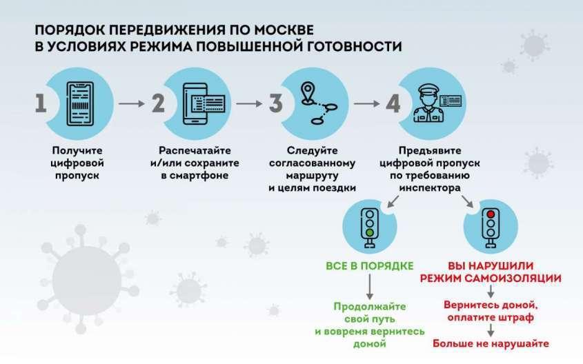 Цифровые пропуска. Основные правила и этапы введения
