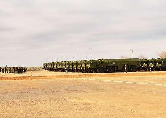Центральный военный округ: ракетная бригада перевооружена на новейшие оперативно-тактические ракетные комплексы «Искандер-М»
