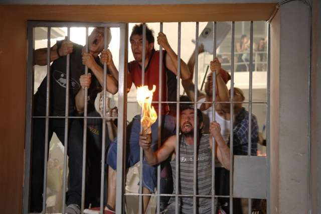 Тюремный бунт