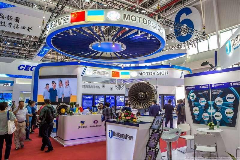 США силой отбирают у Китая украинский авиастроительный завод «Мотор Сич»