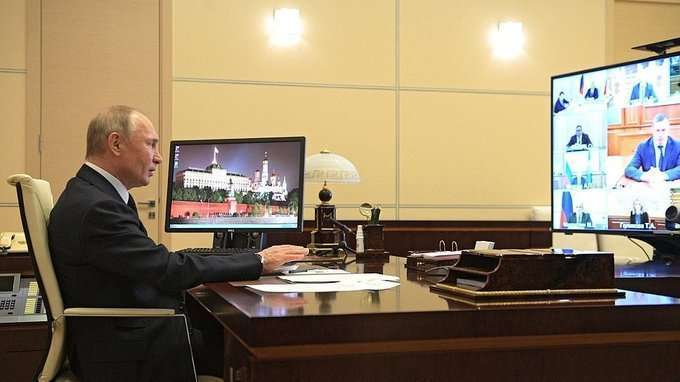 Вступительное слово на совещании с членами Правительства