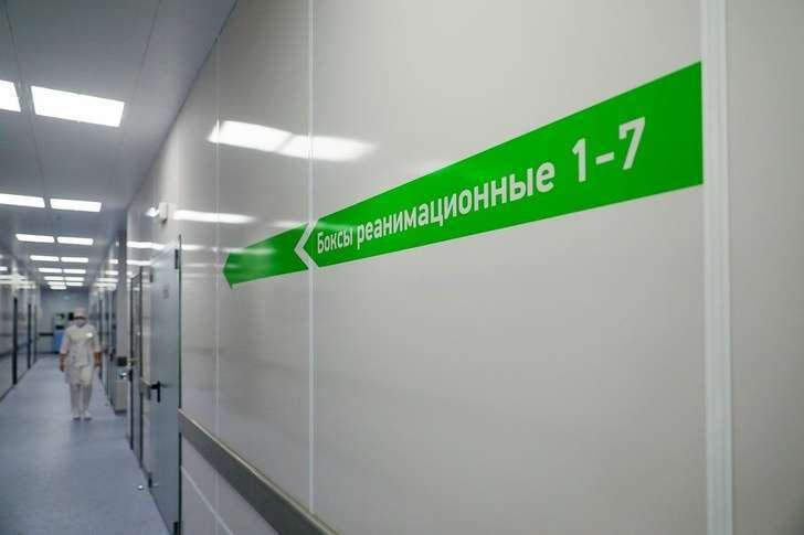 Нижний Новгород. Первый из 16 новых инфекционных госпиталей Министерства обороны