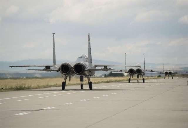 Самолёты НАТО на европейской авиабазе