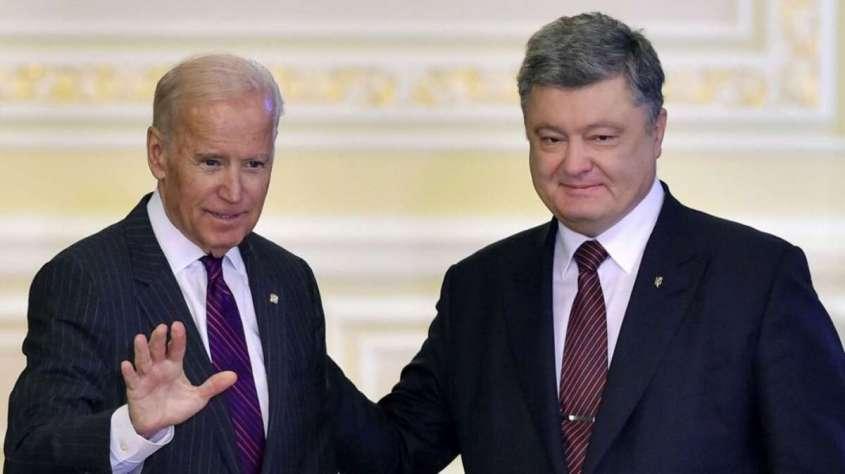 Порошенко получил от Байдена взятку в 200 млн долларов за закрытие дела «Буриcмы»