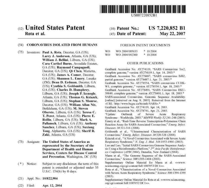 Споры о происхождении COVID-19 можно завершить – он был создан в США! Можно выставлять ИСК