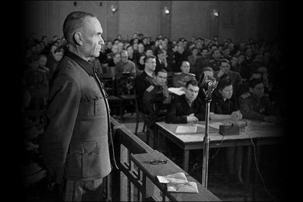 «Малый Нюрнберг» в Риге над нацистскими преступниками и их пособниками