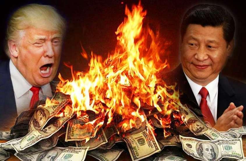 Китай советует сливать американские трежерис и хвалит Россию за дальновидность