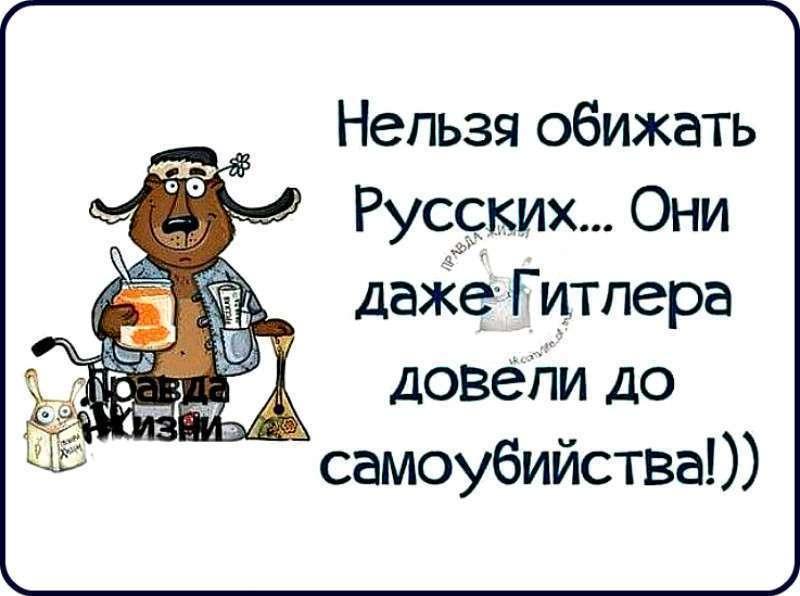 Не копайте яму русским. Они используют её против агрессора