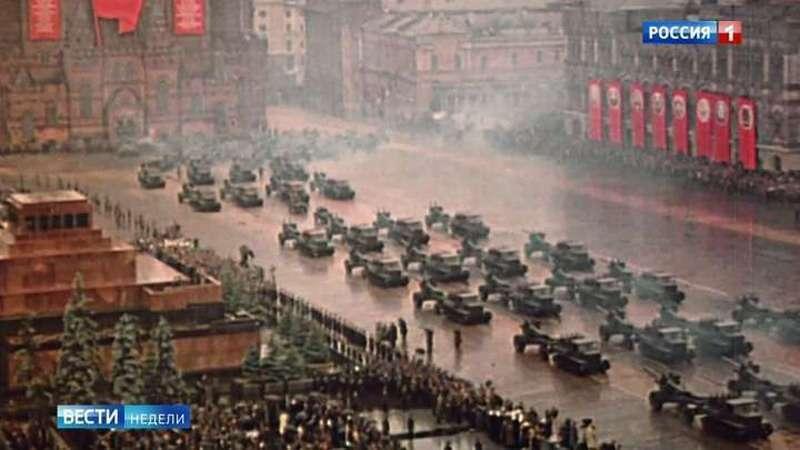 Парад Победы 1945 года: эти кадры не видел никто: бесценная летопись величайшего события ХХ века