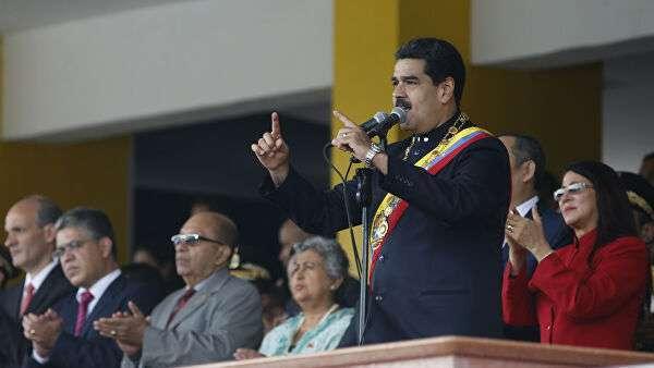 Президент Боливарианской Республики Венесуэла Николас Мадуро