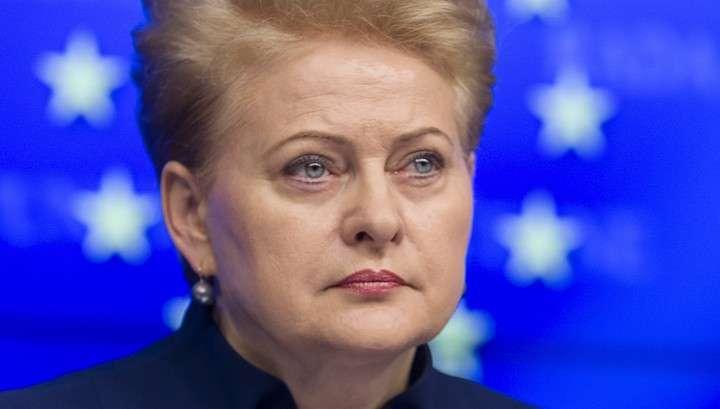 Литва собирается поставлять оружие на Украину