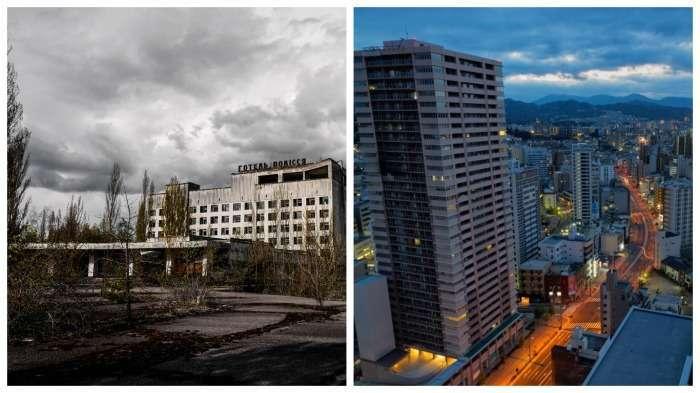 Почему Чернобыль стал закрытой зоной, а в Нагасаки и Хиросиме живут люди?