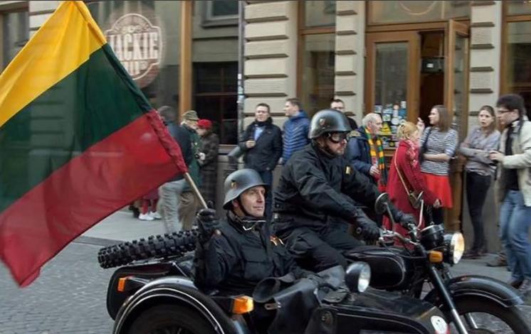 Корчи мелких лимитрофных прибалтийских бесов накануне великого Дня Победы